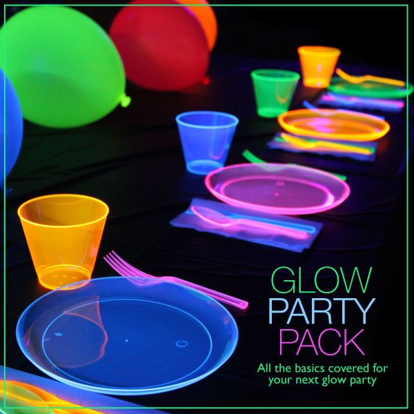 Glow Party Pack In Dark Ideas