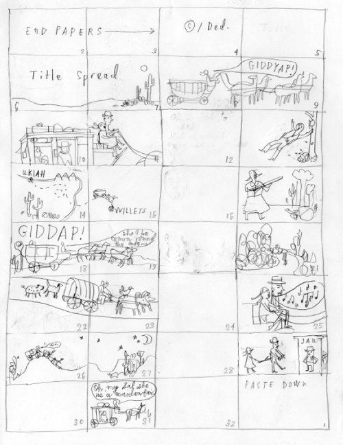 Story Board; Seven Impossible Things Before Breakfast