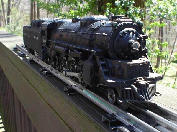 Lionel Trains #2037 Diecast Steam Engine Tender Set Smoker