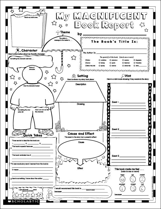 Lab report for kids template