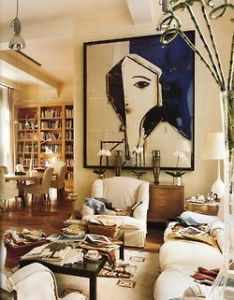 It doesn   have to be bare stylish either large scale artux ui designerdecorating ideasdecor also living room rh pinterest
