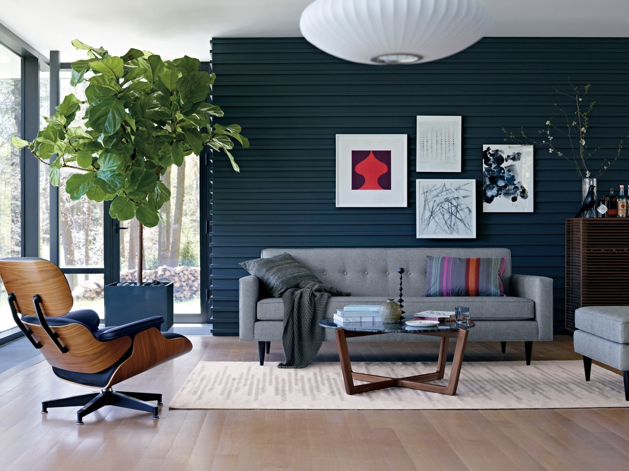 gray sofa navy chairs review sofas to go the couch against wall sala pinterest