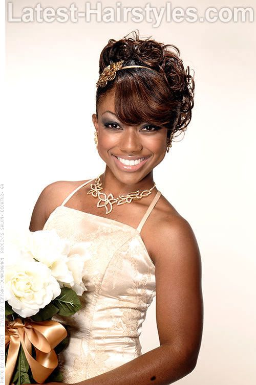 African American Wedding Hairstyles That Dazzle African American