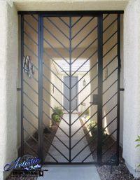 Modern Style Wrought Iron Entryway - Model: EW0520 ...