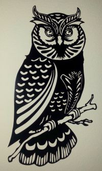 Owl Metal Wall Art by BCMetalCraft on Etsy | do it with ...