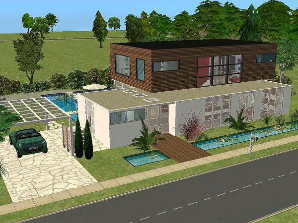 Sims 3 Moderne Häuser Grundrisse  Emphitcom