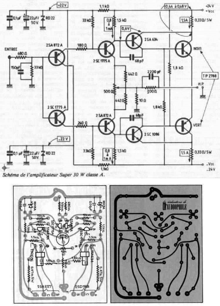 Diagram 300b Tube Single Ended Class A Diagram Schematic Circuit