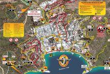 Golf Cart Catalina Island Map