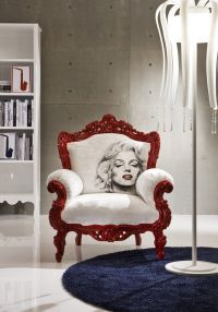 in my dream house there will be a marilyn monroe room. and ...