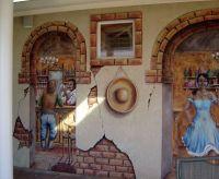 mexican cantina | Exterior Murals | Fiesta | Pinterest
