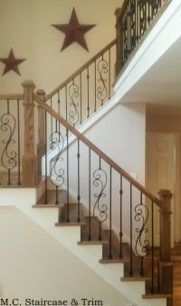 Iron baluster upgrade from M.C. Staircase & Trim. Removal ...