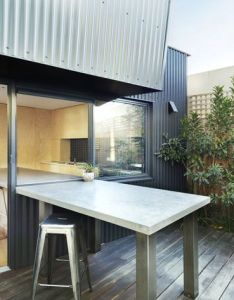 Yarra street house julie firkin architects inside outside kitchen also your new favourite coffee shop could be in home with these rh pinterest