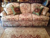 Clayton Marcus Sofa Couch Floral Vintage Style | Floral ...