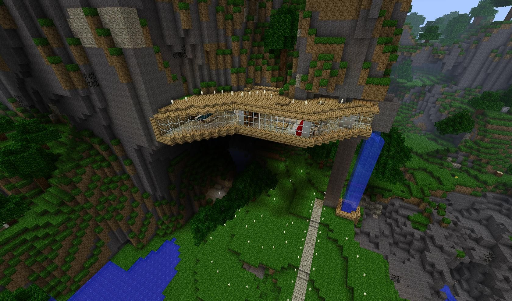 Minecraft Wooden House Google Search Minecraft Pinterest