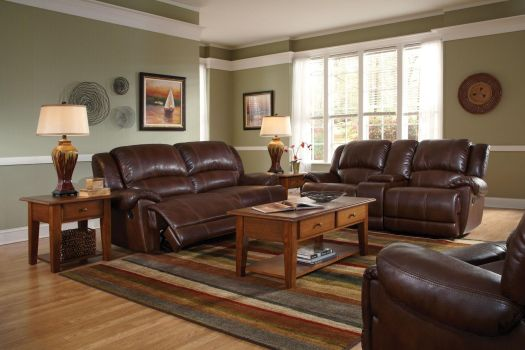 Living Room Brown Leather Couch Google Search