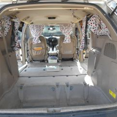 Toyota Sienna Captains Chairs Removal Plastic Adirondack Canadian Tire Remove All But The Two Front Seats From Minivan Mine