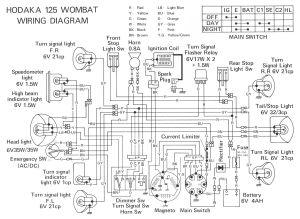 Dirt Bike Wiring Diagram | Hodaka | Pinterest | Dirt biking