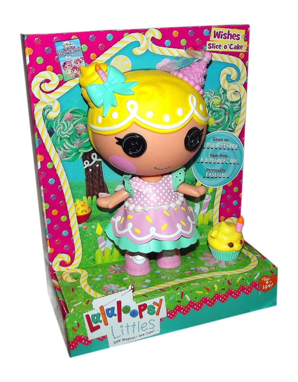 Lalaloopsy Sugary Sweet Littles Doll Wishes Slice O Cake
