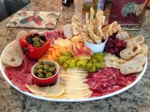 Cheese and Meat Platter Antipasto