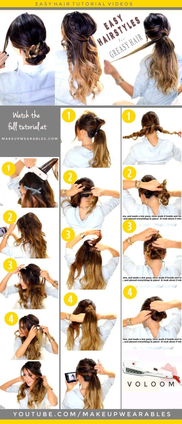 Awesome Easy Fancy Hairstyles Hairstyle Ideas