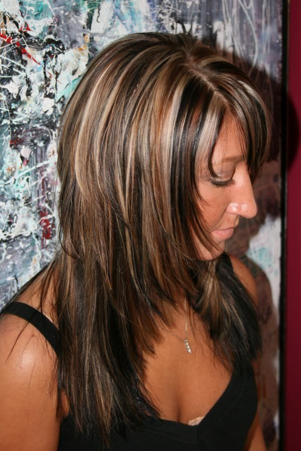 Lowlights Hair Colors Choice Image Hair Coloring Ombre