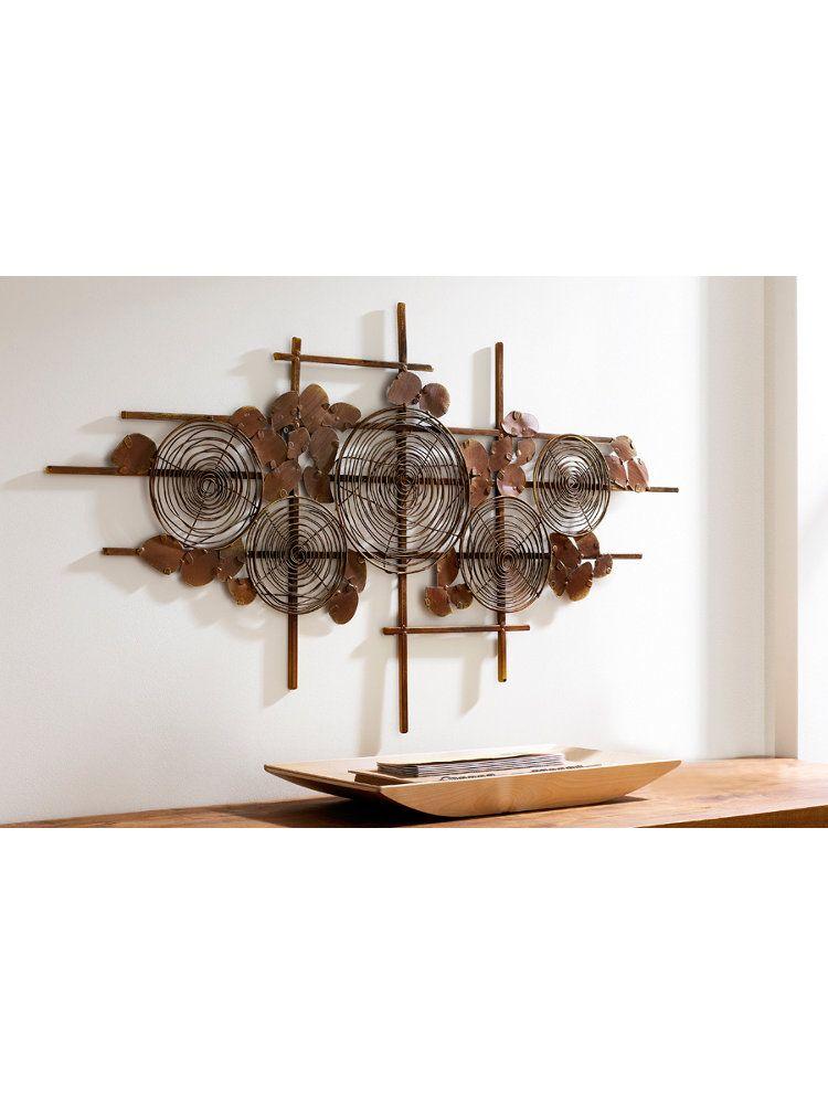 WANDDECORATIE METAAL  Wanddecoratie Metaal  Pinterest