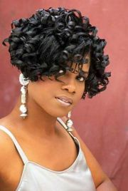 african american curly bob hairstyles