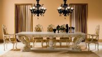 fancy and luxury classic wood dining table | Dreamehome ...