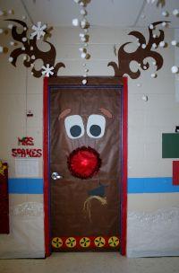 Fouke kindergarten, Rudolph Classroom Door | School ...