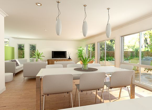 Sekisui House Australia Designs Luzia 315 Open Plan Living 101