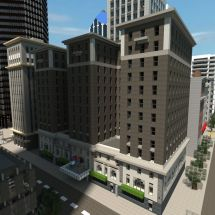 Minecraft Hotel Design - Wesharepics