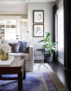 Decorating also get the look layered rugs dining and rh pinterest