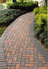 Paver Sidewalk Designs Adorable Paver Walkway Design Ideas ...