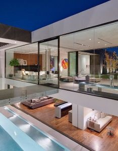 Fashion designer calvin klein contemporary house in the bird streets of hollywood hillse mansion designed by paul mcclean has fully retractable also sunset strip follow lifes luxuries and gentslab courtesy rh pinterest
