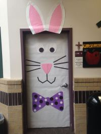 Spring Easter classroom door decoration | Bulletin boards ...