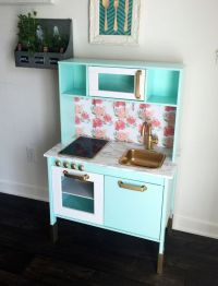 Custom Ikea Hack Duktig kids play kitchen Made by