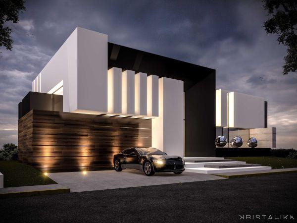 Da House #architecture #modern #facade #contemporary #