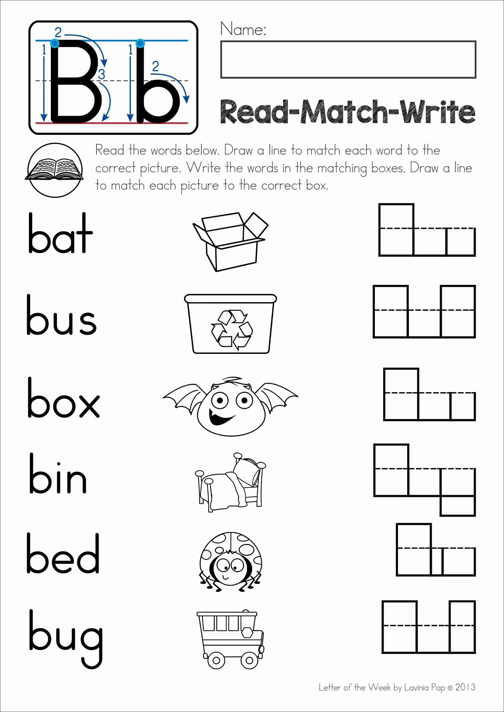 Free Drawing And Writing Worksheets For Preschool
