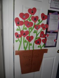 preschool is in bloom february door | bulletin boards by ...