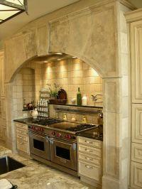 Stone Range Hoods | Kitchen Hearth 527 | Materials ...