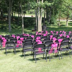 Folding Chair Jokes Chairs At Sam S Club Ordinary Dressed Up With Hot Pink Tulle