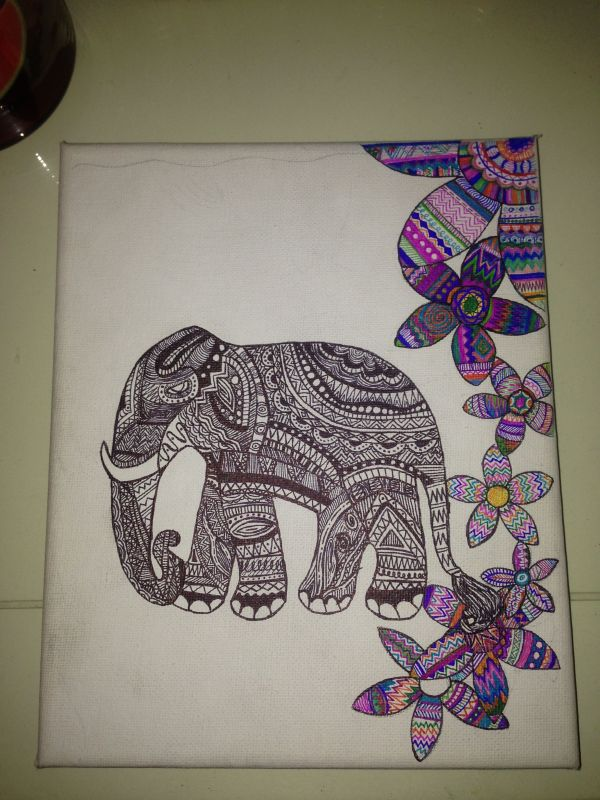 Love Drawing With Sharpies Art