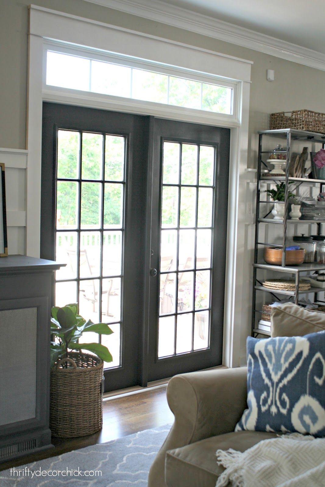 The Curse Of The Back Door Doors Black And Patio Doors