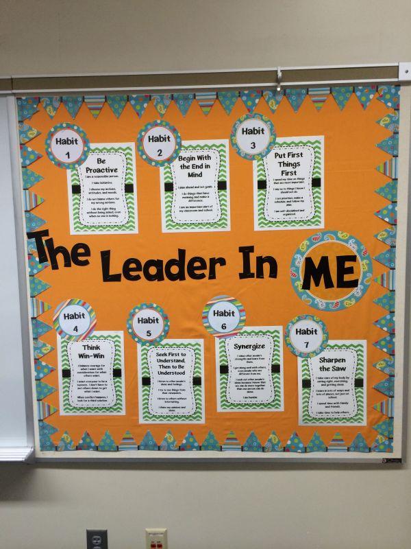 Leader in Me Bulletin Board Ideas