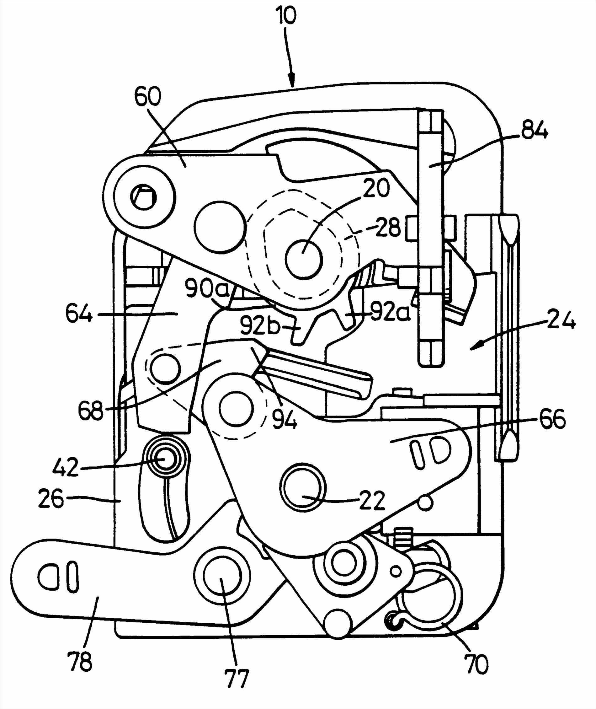 Assembly Patents Porsche Boxster Lock Mechanism