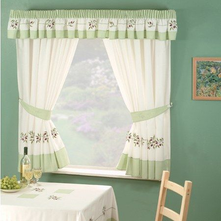 Kitchen Windows Curtain For Privacy And Decoration