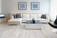 Memory Blanco whitewashed wood effect porcelain floor ...