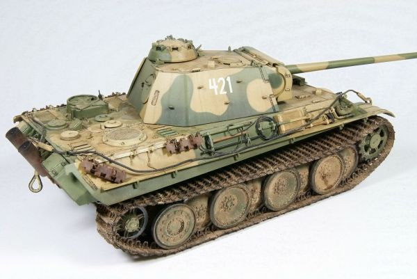 "Panther Late ""421"" - 11. Panzer Division Planetarmor"
