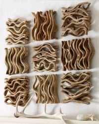 Natural Earthy Home Wall Decor Branch Twig Art ...