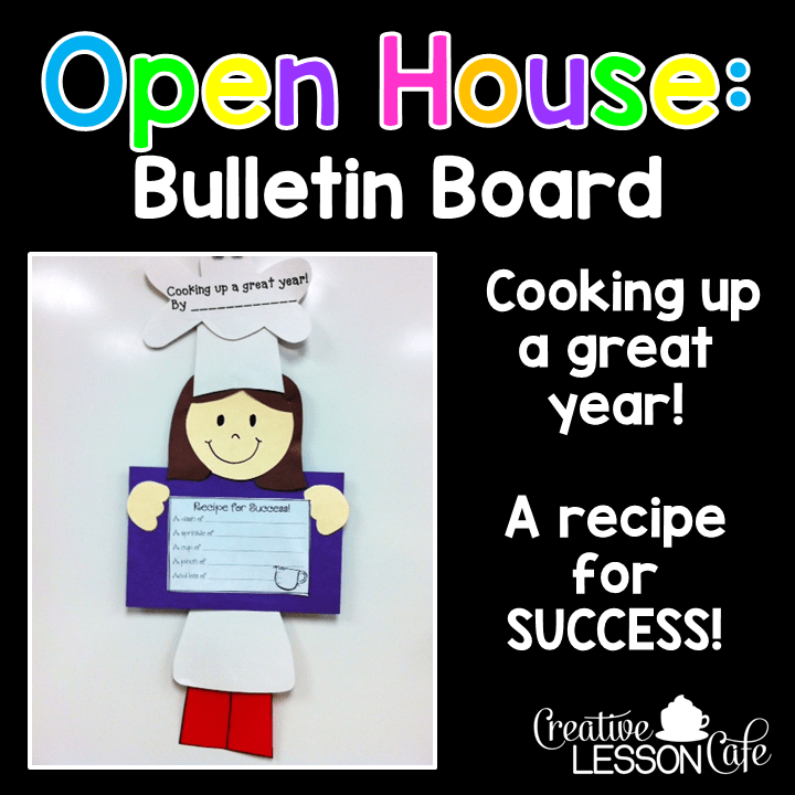 Open House Ideas For Teachers Weekend Warriors Creative Lesson